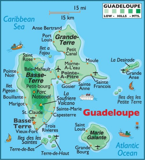 Guadeloupe Taxi Cab Service